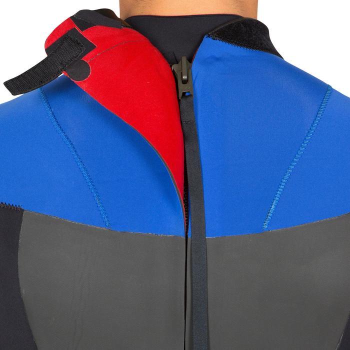 Combinaison Surf 500 Néoprène 4/3 mm Homme Bleu - 423601