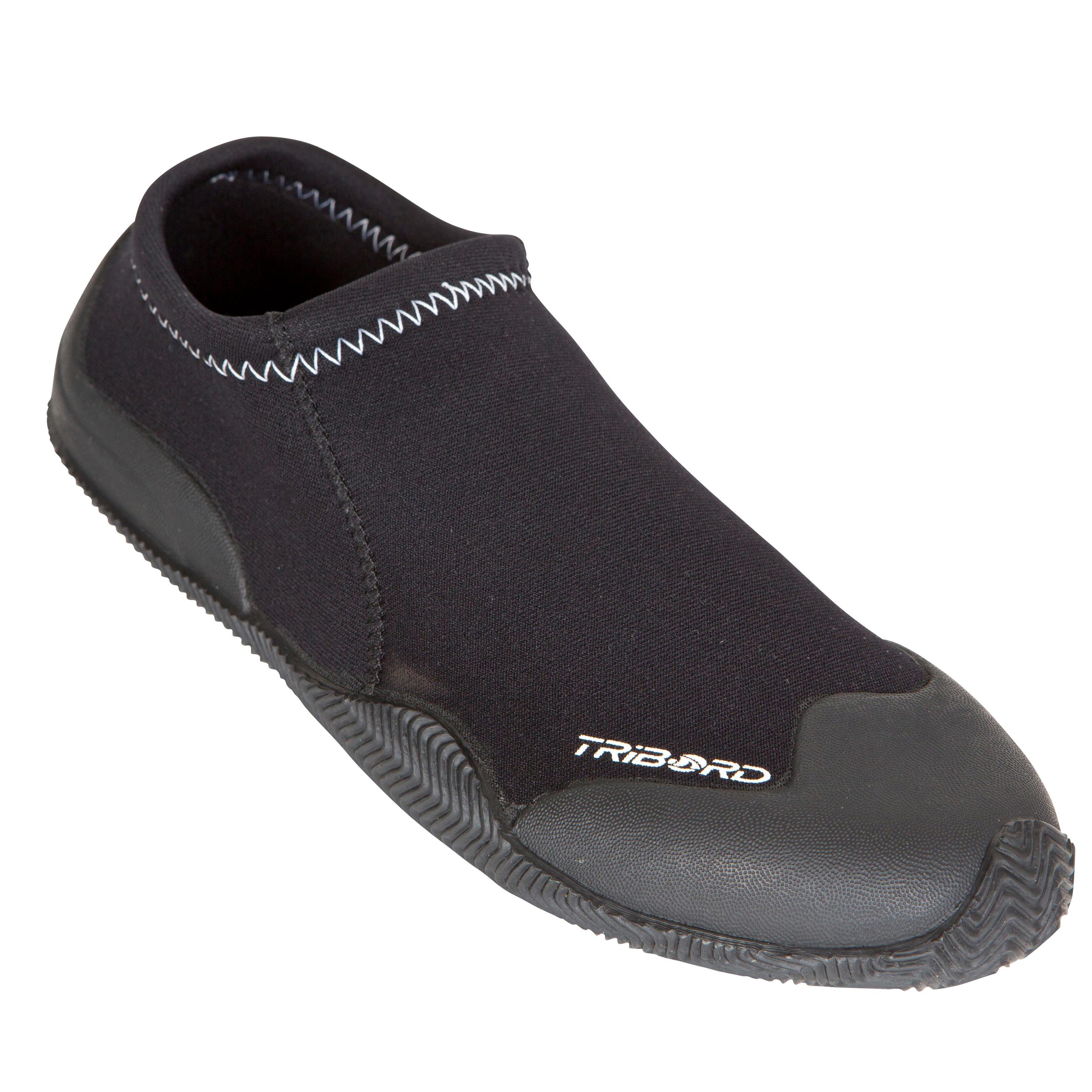 Tribord Neopreen schoenen 100 voor kajak en suppen, neopreen 1,5 mm