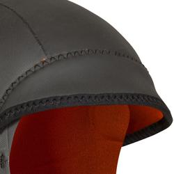 Neopreen surftop 1 mm met vaste cap 2 mm