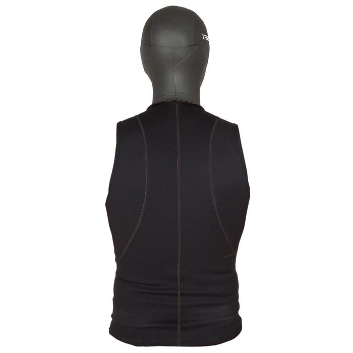 Top de Neopreno Surf Olaian Adulto 1 mm Capucha 2 mm Invierno Negro
