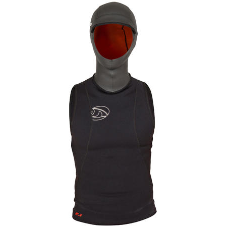 1 mm Neoprene Surfing Top with 2 mm Built-In Hood