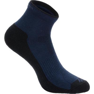 جوارب طويلة وسط للمشي لمسافات طويلة في الطبيعةزوجين ARPENAZ 50 - لون كحلي
