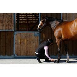 Grasa para casco equitación caballo y poni UNGÜENTO CUIDADO negro 2,5 ml