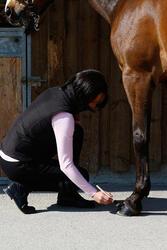 Zwarte hoefzalf voor onderhoud ruitersport paarden en pony's 500 ml - 424009