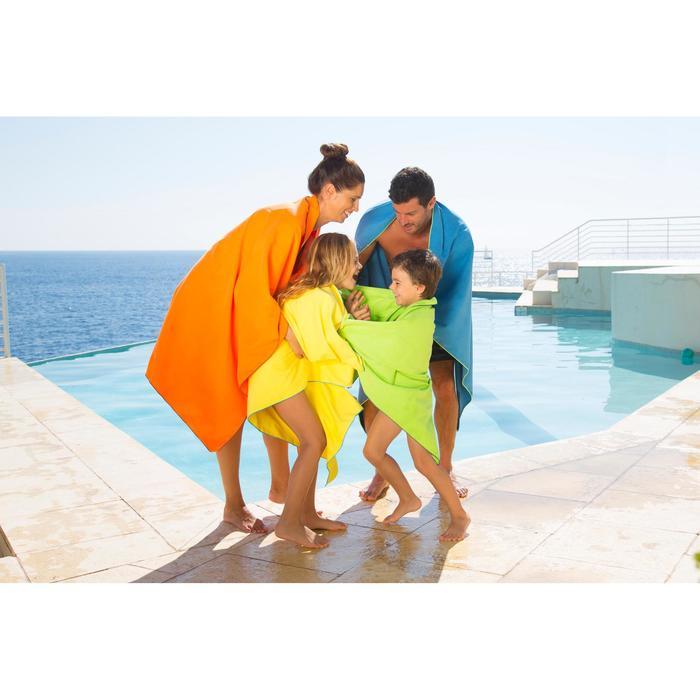 Set microvezel badjas en handdoek voor kinderen M 65x90 cm Nabaiji - 424030