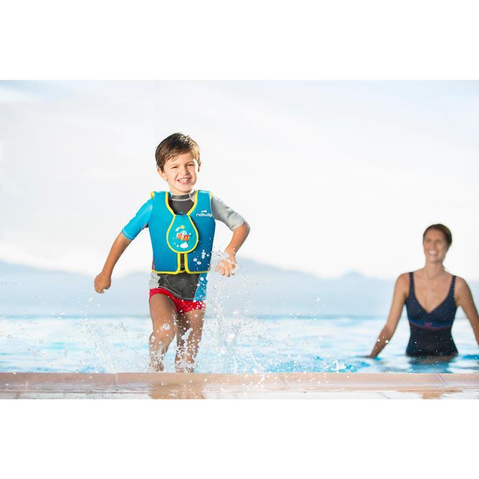 Schwimmweste Kinder blau/rot