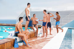 Zwemshort voor heren B-Free Plus - 424035