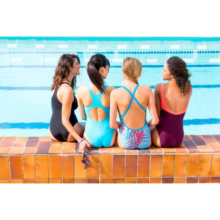 Maillot de bain de natation une pièce femme Leony + - 424037