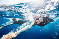 Dames zwempak OWSwim in neopreen van 4/3 mm voor koud open water - 424064
