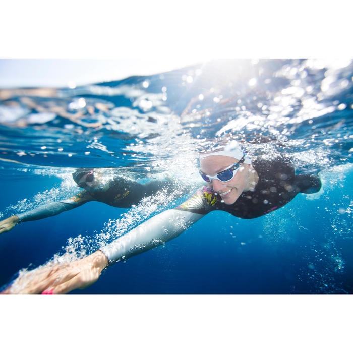 Combinaison de natation néoprène nage en eau libre OWS550 4/3mm femme - 424064