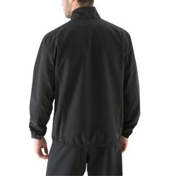 Trainingsjacke Fitness 100 Herren schwarz