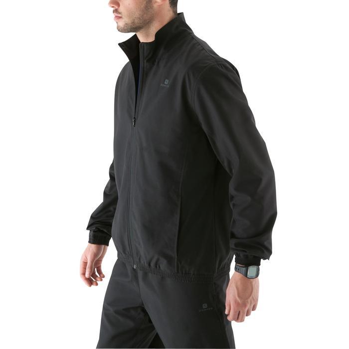 Cardiofitness vest trainingspak voor heren zwart FJA 100