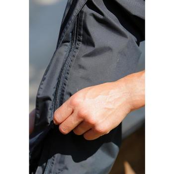 Sur pantalon imperméable équitation 500 2en1 noir - 424625