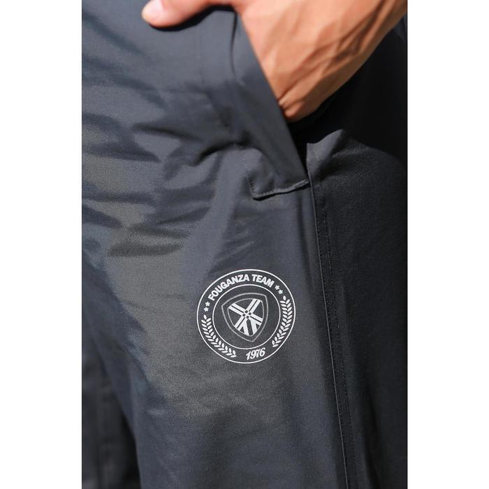 Sur pantalon imperméable équitation 500 2en1 noir - 424628