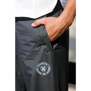 Sur pantalon imperméable équitation 500 2en1 noir - 424629