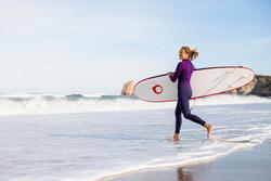Dames surfpak 100 neopreen 2/2 mm paars - 42475