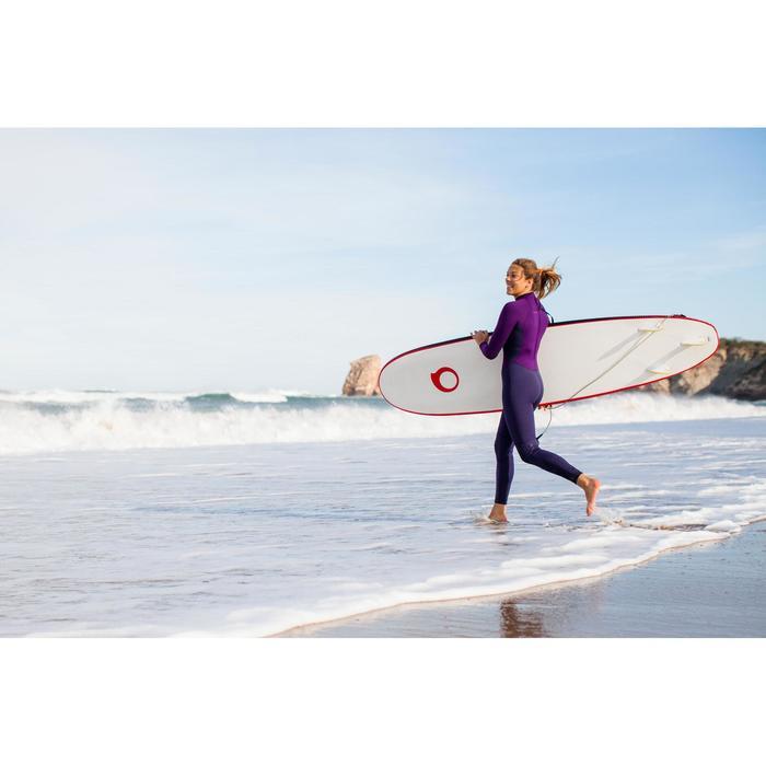 Traje SURF 100 Neopreno 2/2 mm Mujer Violeta