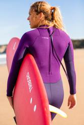 Dames surfpak 100 neopreen 2/2 mm paars - 42476