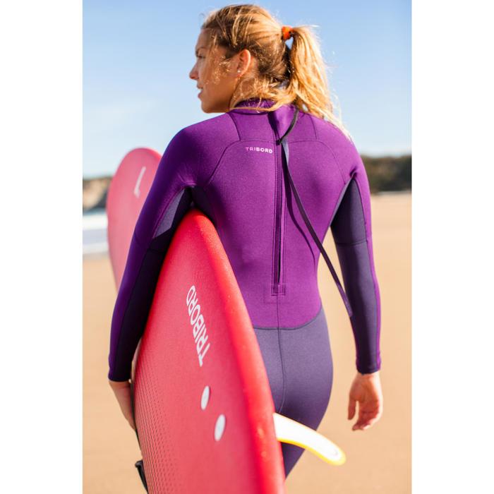 Combinaison SURF 100 Néoprène 2/2 mm Femme Violet - 42476