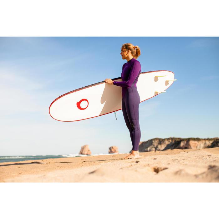 Combinaison SURF 100 Néoprène 2/2 mm Femme Violet - 42477