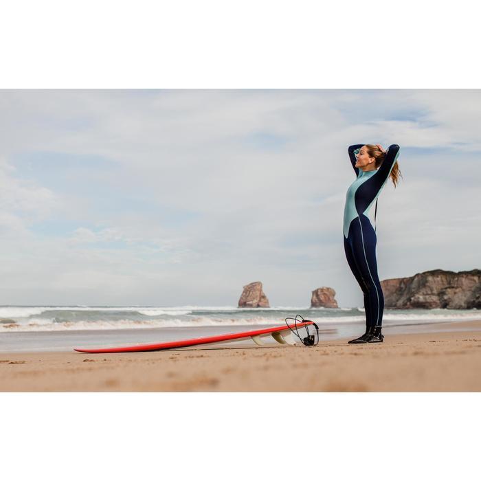 Combinaison SURF 100 Néoprène 4/3 mm Femme bleu - 42480
