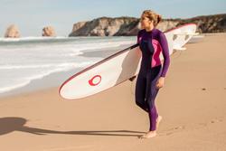 Dames surfpak 900 neopreen 3/2 mm fuchsia - 42484