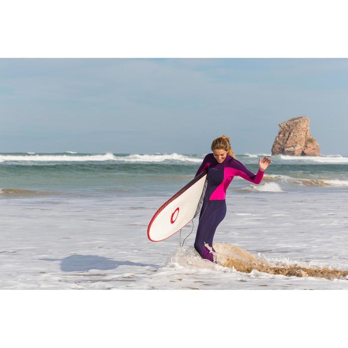 900 Women's 3/2 mm Neoprene Surfing Wetsuit - Fuchsia