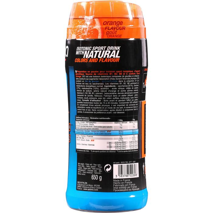 Bebida isotónica en polvo ISO naranja 650 g