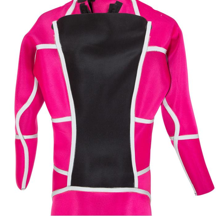 900 女款 3/2mm 氯平橡膠衝浪潛水衣-紫紅色