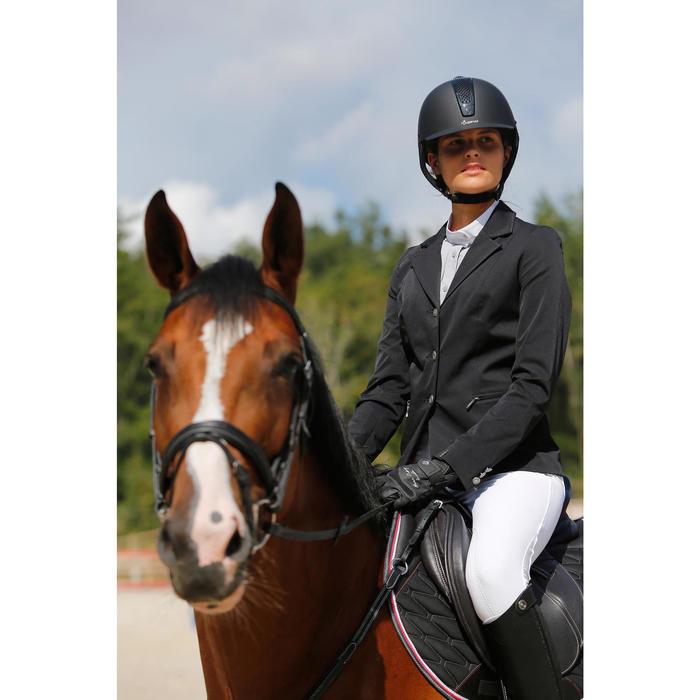 Veste de Concours équitation femme COMP500 noir - 425667