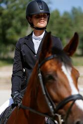 Wedstrijdjasje Classic voor dames, ruitersport, zwart - 425668