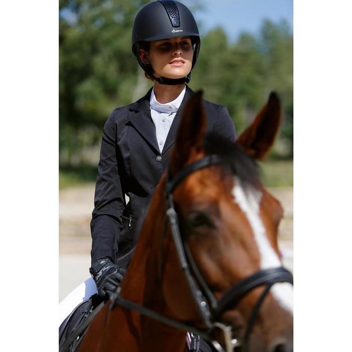 Veste de Concours équitation femme COMP500 noir - 425668