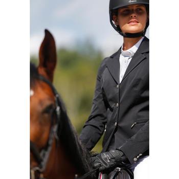 Veste de Concours équitation femme COMP500 noir - 425669