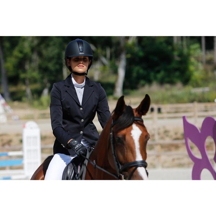 Veste de Concours équitation femme COMP500 noir - 425670