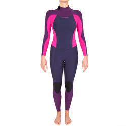 Dames surfpak 900 neopreen 3/2 mm fuchsia - 425710