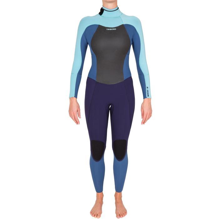 Combinaison Surf 900 Néoprène 5/4/3 mm Femme grise - 425714