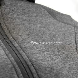 Warme stretch damessweater voor trekking Forclaz 900 gemêleerd - 42573