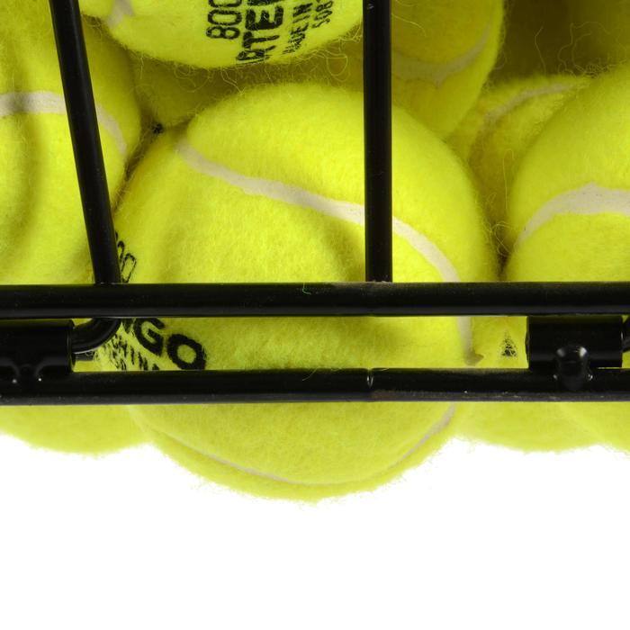 PANIER DE BALLES DE TENNIS NOIR - 425765