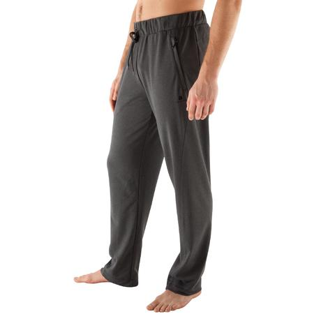 pantalon yoga 900 homme gris domyos by decathlon. Black Bedroom Furniture Sets. Home Design Ideas
