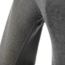 Warme stretch damessweater voor trekking Forclaz 900 gemêleerd - 42578