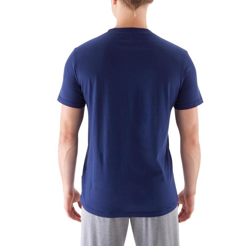 Sportee 100% pamut férfi póló kímélő tornához 4b2aedc93f