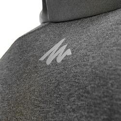 Warme stretch damessweater voor trekking Forclaz 900 gemêleerd - 42584