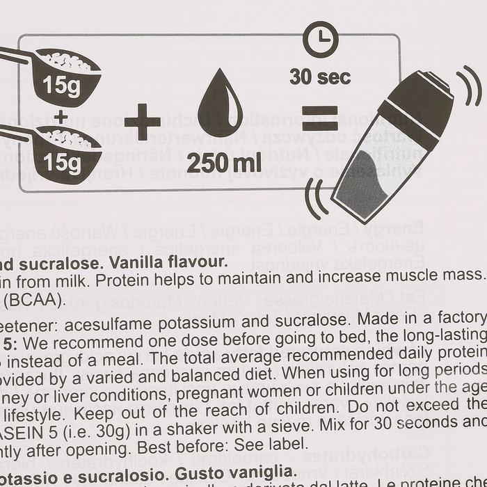 PROTEINE WHEY 9 vanille 900g - 42626