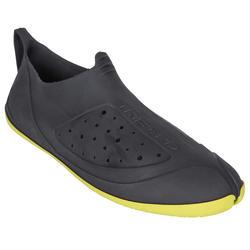 ESCARPINES Surf reciclados Negro / amarillo