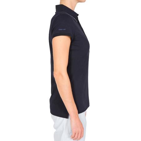 100 Kaus Polo Berlayar Wanita - Biru Dongker
