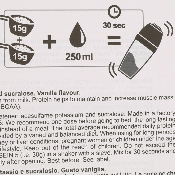 PROTEINE WHEY 9 vanille 900g - 42673