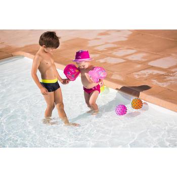 """Brassards de natation enfant bleus imprimés """"ZEBRE"""" - 426771"""