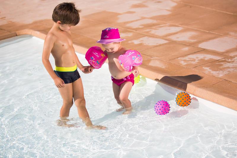Washable Baby Girl's Swim Briefs - Pink