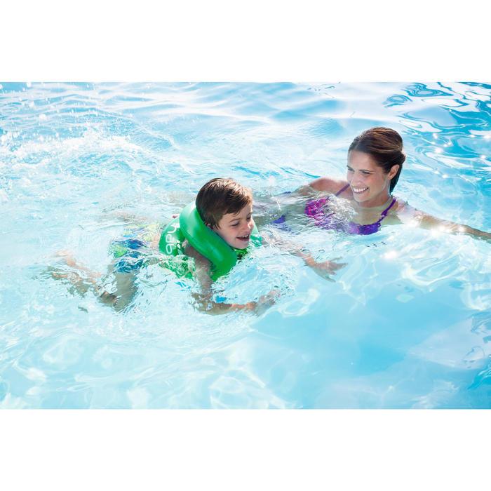 Opblaasbaar zwemvest groen Neckvest