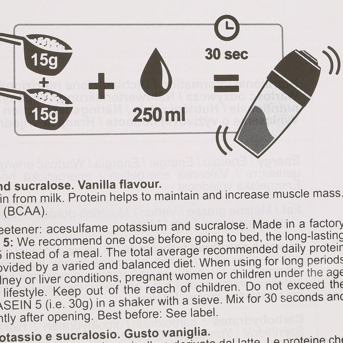PROTEINE WHEY 9 vanille 900g - 42685